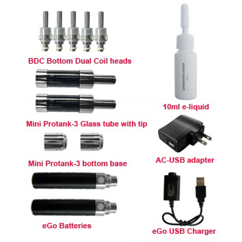 mini protank-3 starter kit accessories